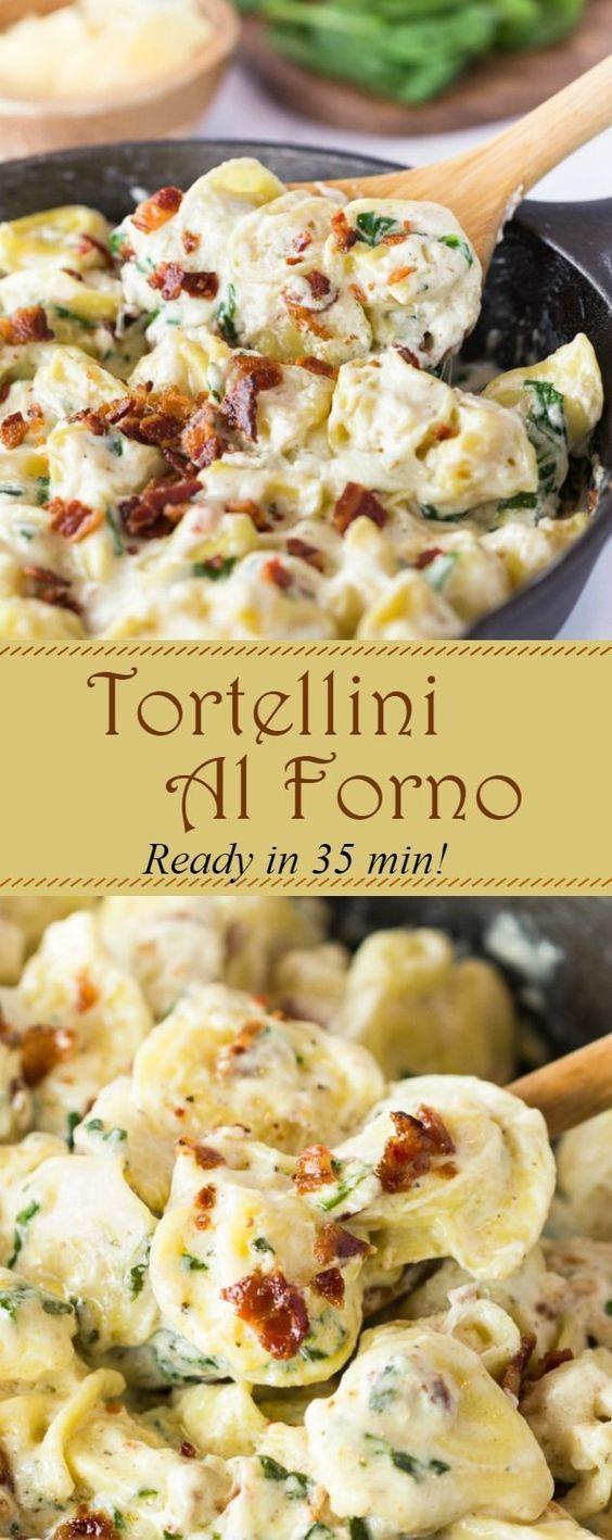 Tortellini Al Forno #Tortellini #Alforno #Dinner #Easydinner #deleciousrecipe