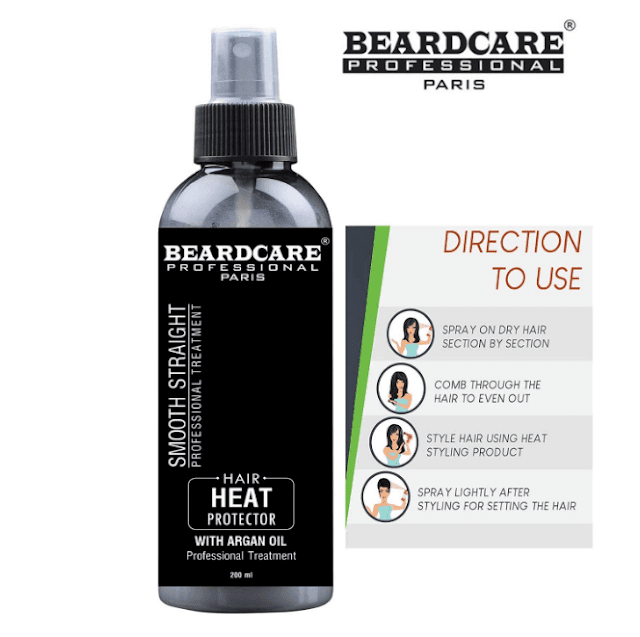 heat protection spray for hair straightening
