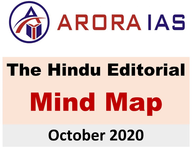 Arora IAS The Hindu Editorial Mind Map (October 2020) : For UPSC Exam PDF Book