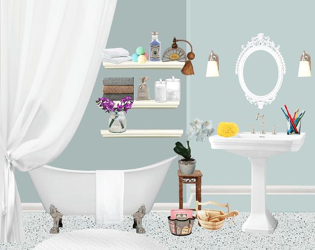 limpeza diária dos banheiros