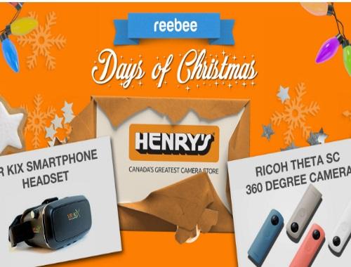 Reebee Henry's Smartphone Headset & Camera Giveaway