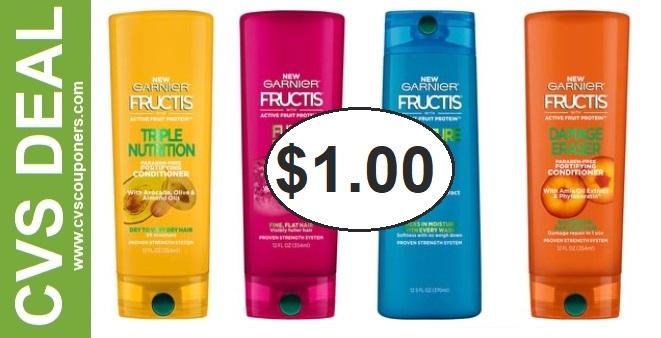 Garnier Fructis Shampoo CVS Deal 5-31-6-6