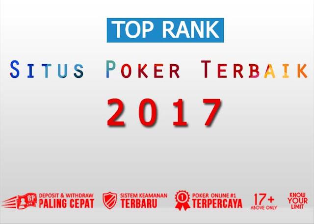 Situs Poker Terbaik 2017