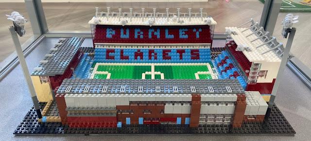 Turf Moor - Burnley FC - In Lego