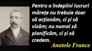 Citatul zilei: 16 aprilie - Anatole France