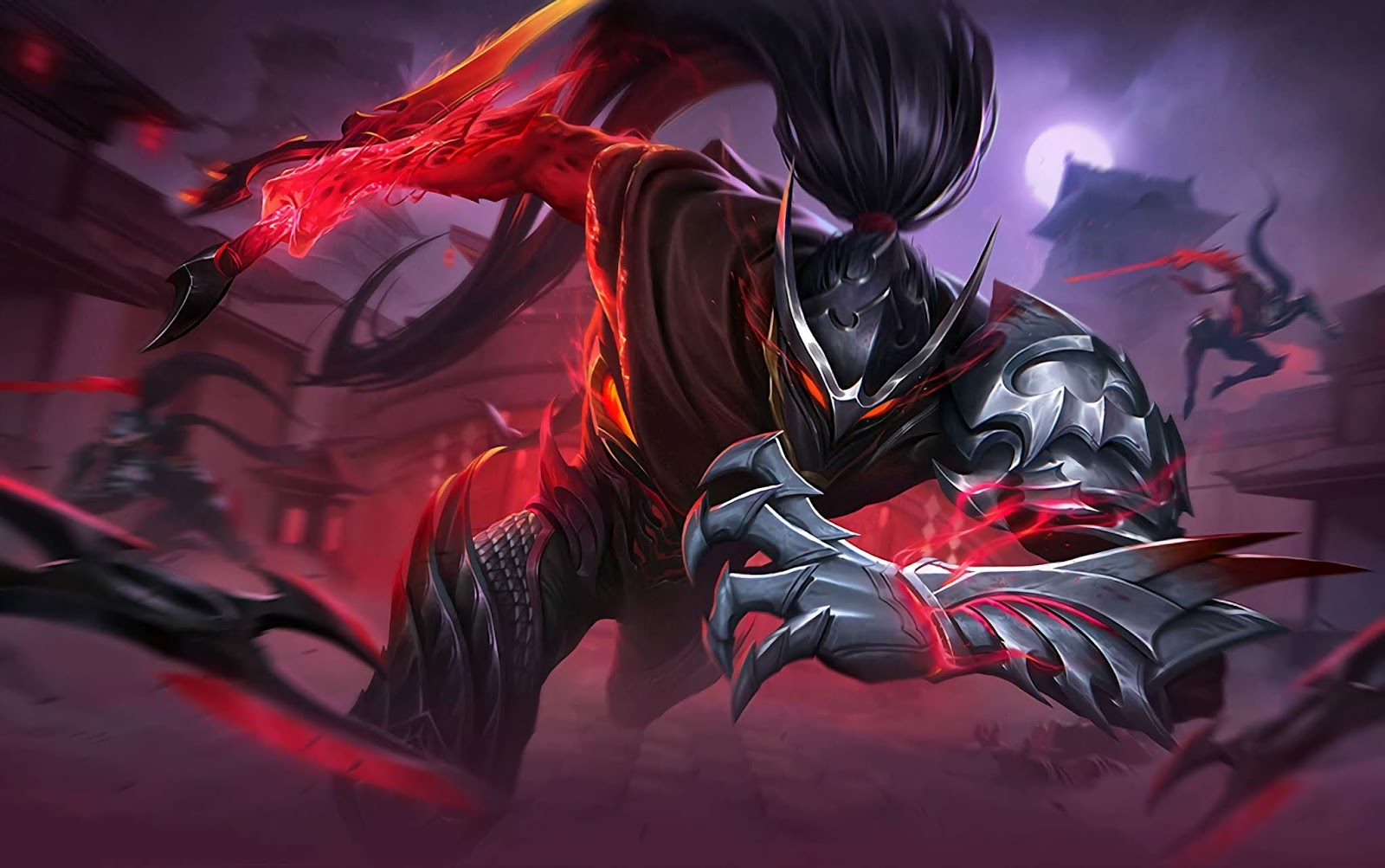 Wallpaper Hayabusa Shadow of Obscurity Skin Mobile Legends HD for PC