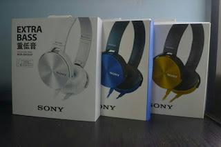 Headpones SONY MDR-XB450 | EXTRA BASS | OEM