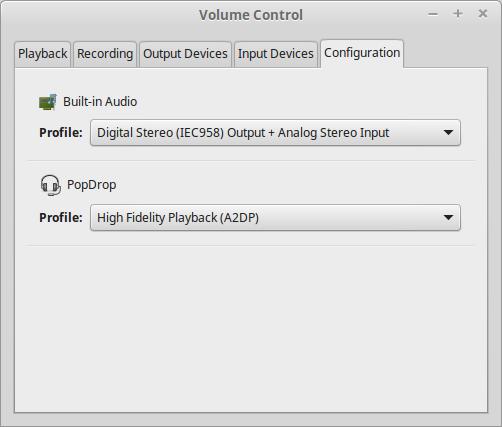 Troubleshooting Linux Mint bluetooth audio