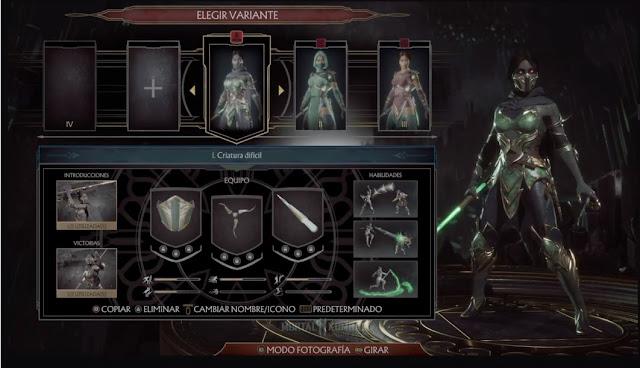 Análisis de Mortal Kombat 11 Ultimate - Personalización