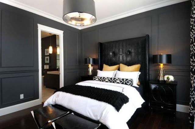 Elegance Decor with Black Laminate Bedroom Flooring Ideas ...