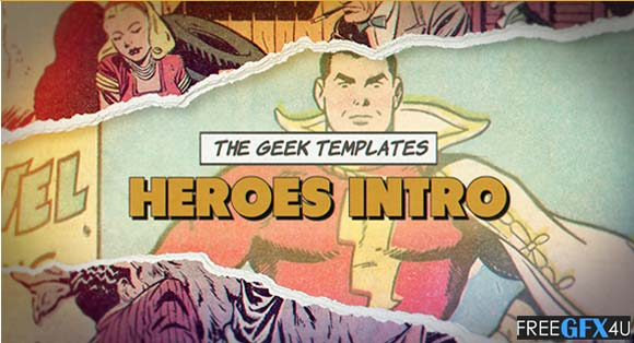 Heroes Intro Premiere & After Effects