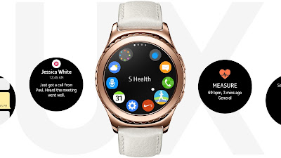 Samsung Gear S2 update brings improved battery life and security -T4SK M4STER