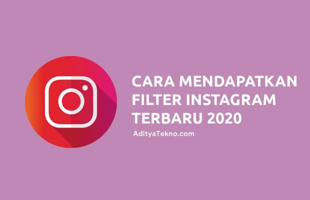 Cara Mendapatkan Filter Instagram Stories Terbaru 2020