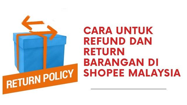 Cara Return/Refund Barang di Shopee