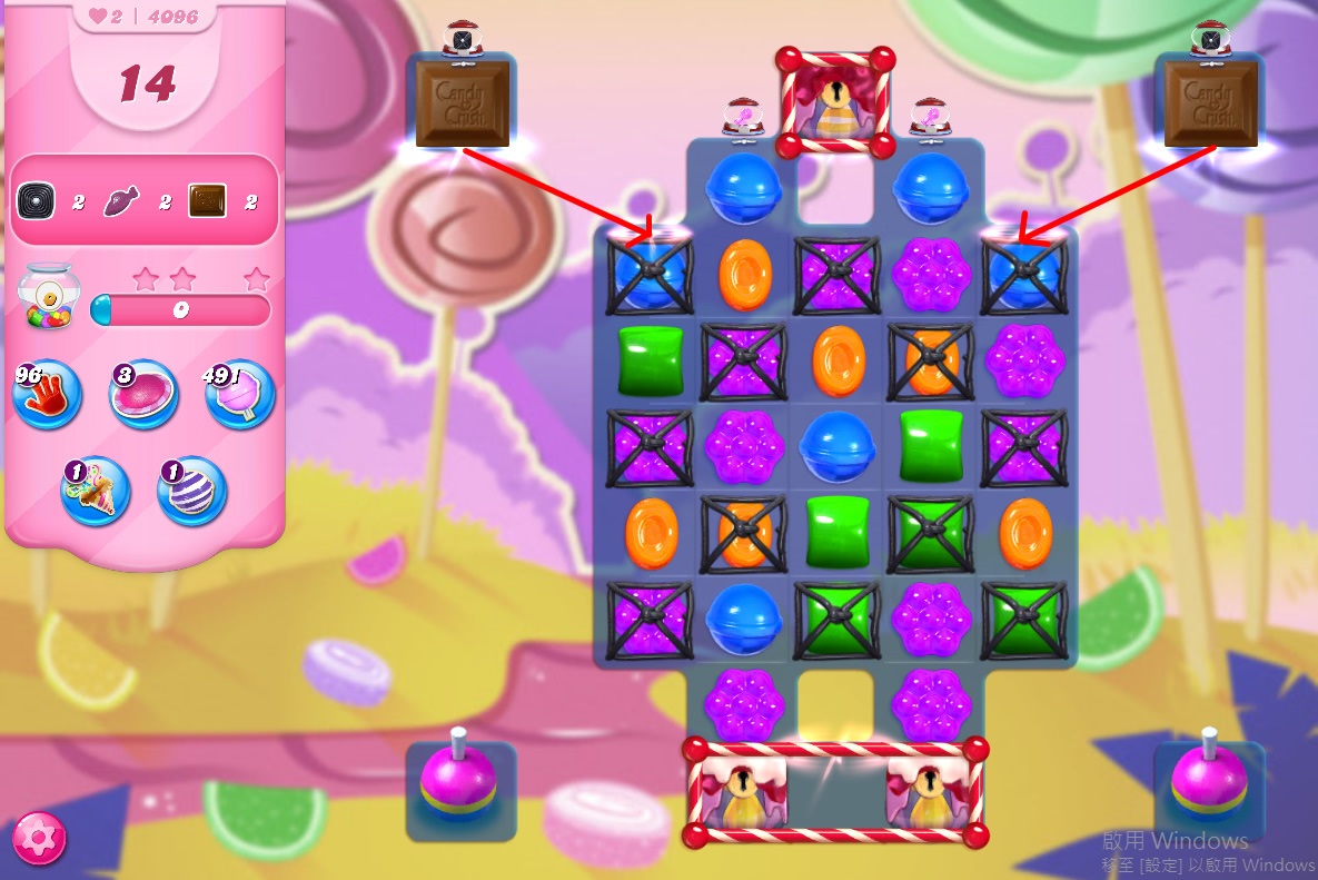 Candy Crush Saga level 4096