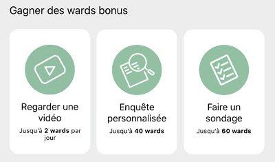 Les bonus vidéos et sondages