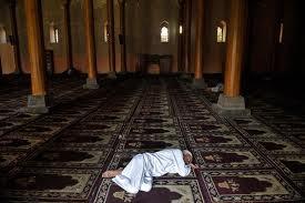 Tidur Dalam Mesjid