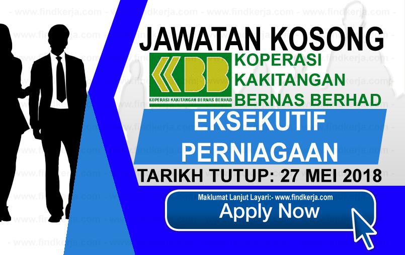 Jawatan Kerja Kosong Koperasi Kakitangan Bernas Berhad logo www.findkerja.com mei 2018