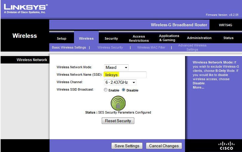Linksys wrt54g firmware