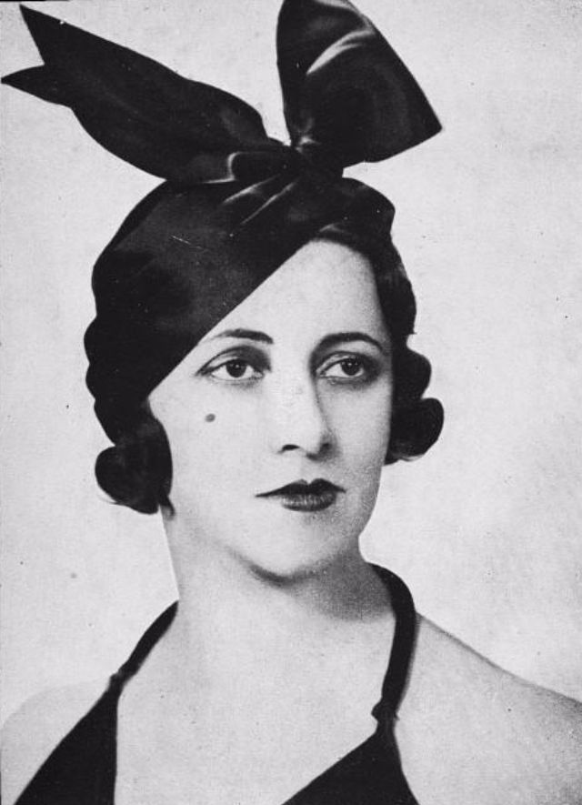 1930s one of the best periods of women hat fashion