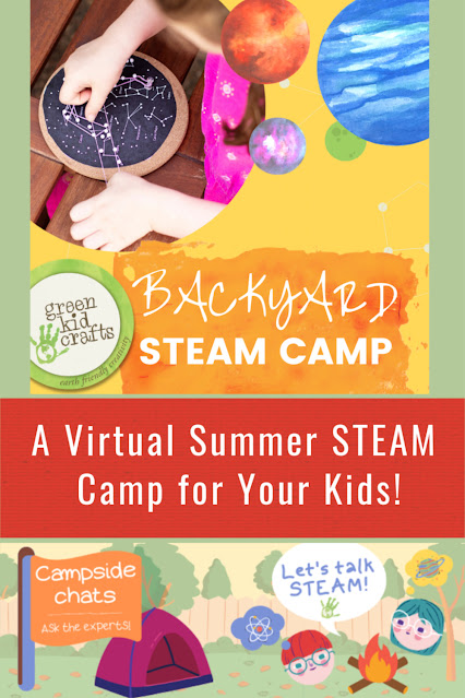 Green Kid Crafts Summer Camp