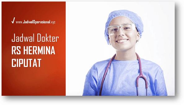 Jadwal Dokter RS Hermina Ciputat