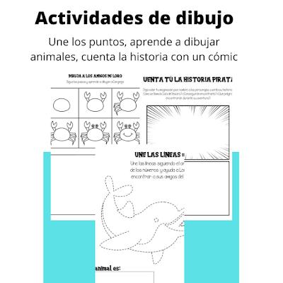 libro, actividades, infantil, ingles, español, sudokus, sopas de letras, matematicas, colorear