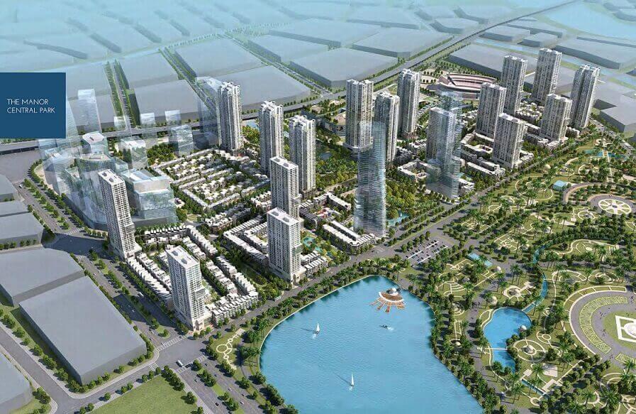 The Manor Central Park - Kỷ nguyên mới Hà Nội 36 phố phường - ducanhland