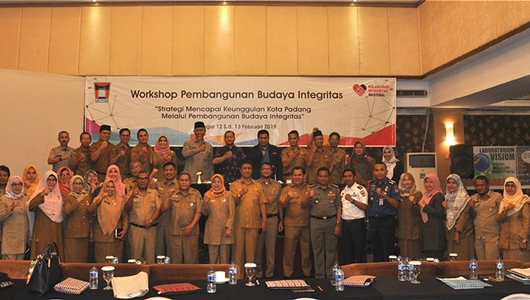 Inspektorat Kota Padang Gelar Workshop Pembangunan Budaya Integritas