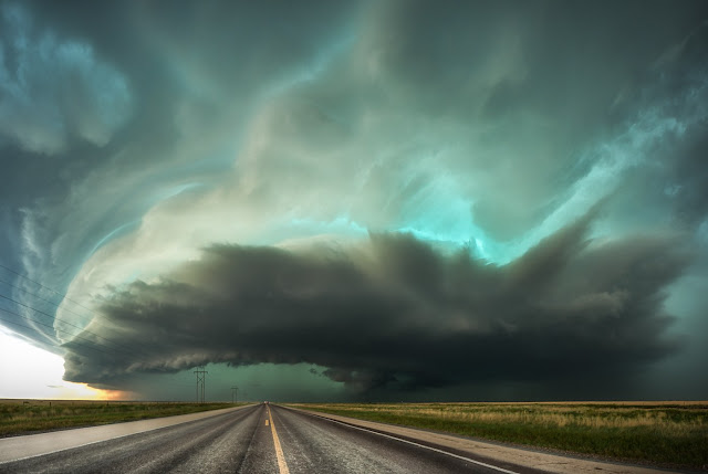 Storm over Texas