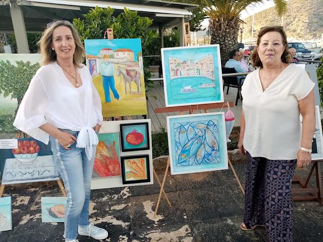 Με επιτυχία η Έκθεση της καλλιτεχνικής Ομάδας Ερμιονίδας στην Κοιλάδα