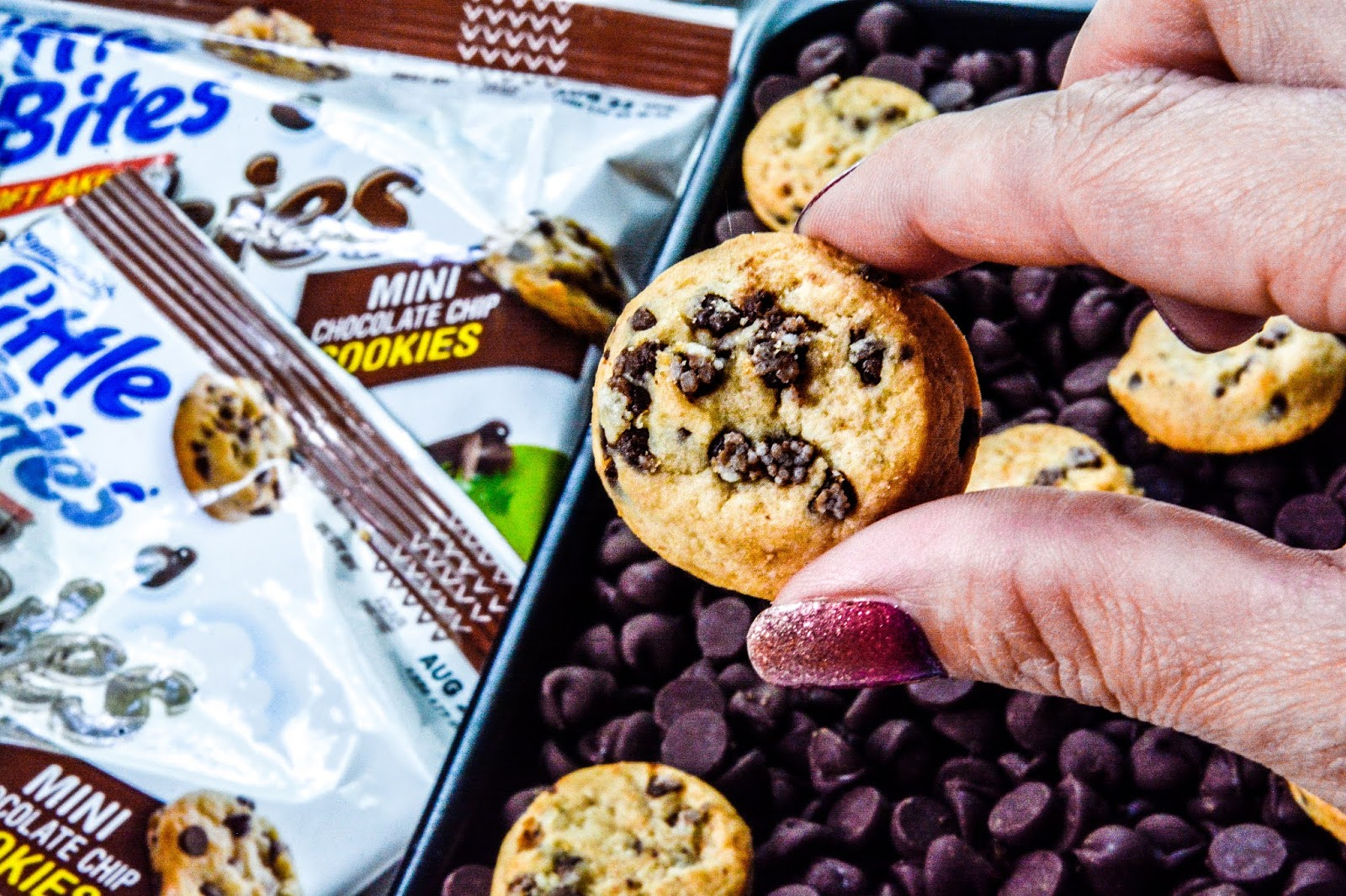 Little Bites® Soft Baked Chocolate Chip Cookies.