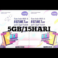 Voucer Axis 5GB/15HARI