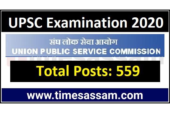 UPSC Examination 2020