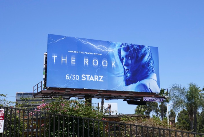 Rook TV series billboard