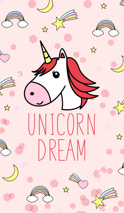Unicorn Dream Red