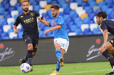 ملخص واهداف مباراة نابولي وجنوي (6-0) الدوري الايطالي
