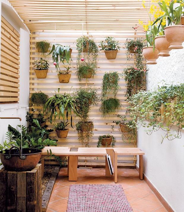 10 (dez) idéias para ter um jardim de inverno...confira + ...