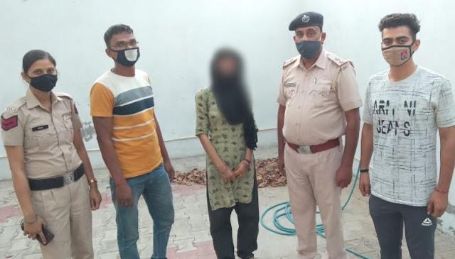 फरीदाबाद पुलिस ने नाबालिक लडकी को बिहार से बरामद कर परिजनों को सौंपा