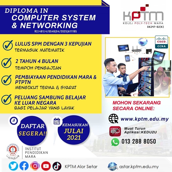 Diploma in Computer System and Networking