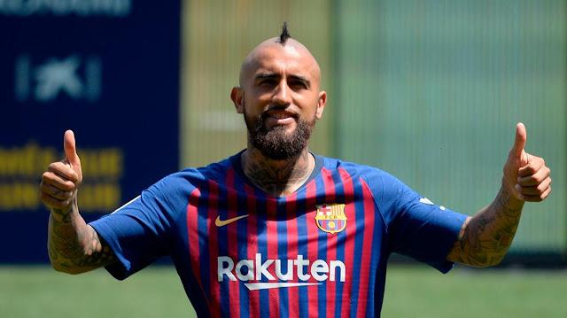 Arturo Vidal dan Frustrasinya Menjadi Pemain Cadangan di Barcelona