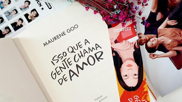 Isso que a gente chama de amor, um livro para fãs de k-dramas