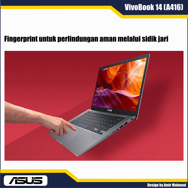 Fingerprint ASUS-VivoBook-14-A416