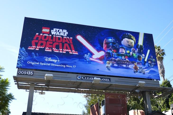 Lego Star Wars Holiday Special billboard