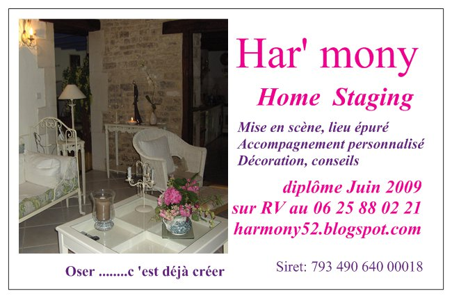 diplome de home staging. Black Bedroom Furniture Sets. Home Design Ideas