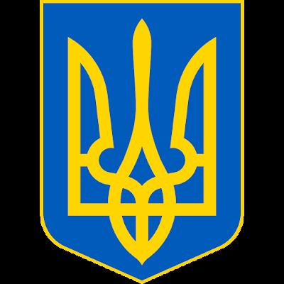 Coat of arms - Flags - Emblem - Logo Gambar Lambang, Simbol, Bendera Negara Ukraina