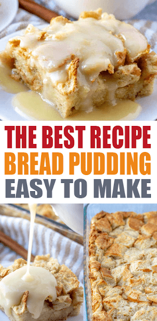 THE BEST BREAD #PUDDING