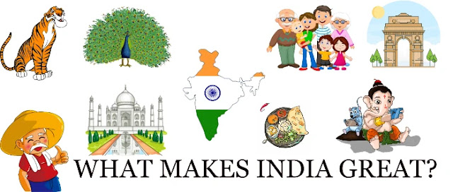 What makes India great essay