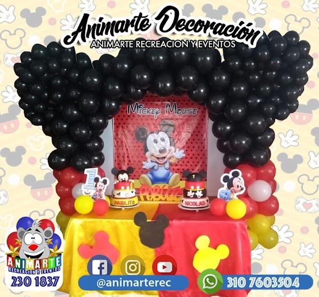 Decoración de Fiesta Mickey Mouse