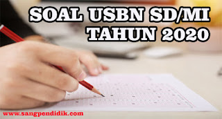 SOAL USBN SD/MI
